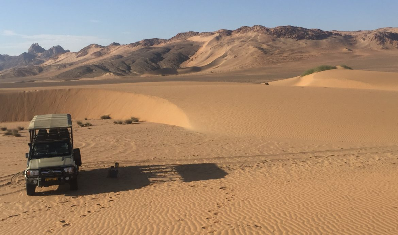 Serra Cafema Camp, Hartmann Valley, Kaokoland, Kunene River, Namib Desert, near Angolan border, Angola, Namibia